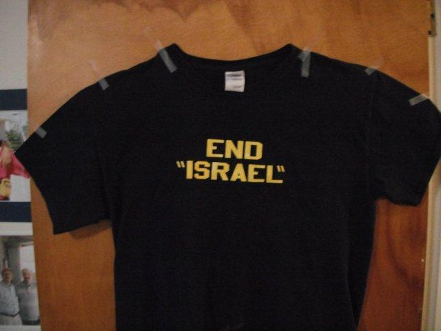 T-shirt End Israel